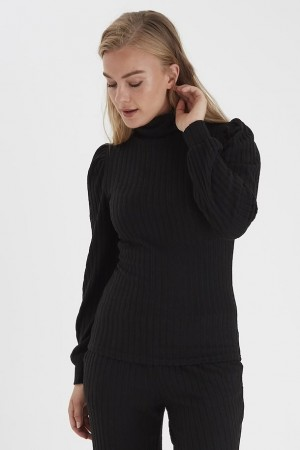 SALMA ROLL NECK TOP SORT