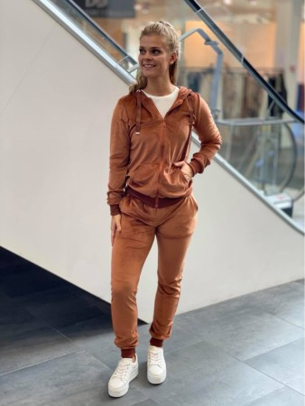 VELOUR SETT RUST