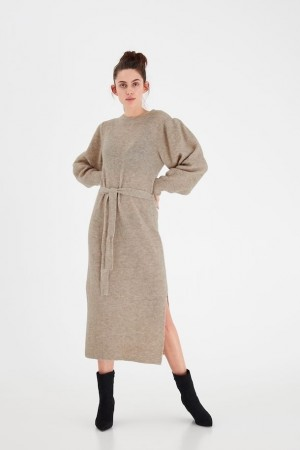 IHJORDAN KNIT DRESS MELANGE