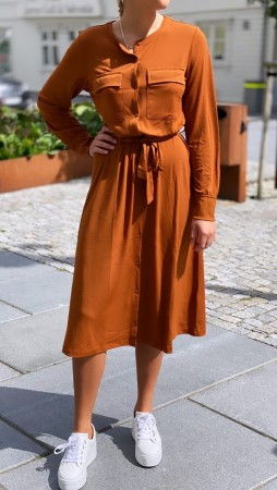 SIGA DRESS CARAMEL CAFE