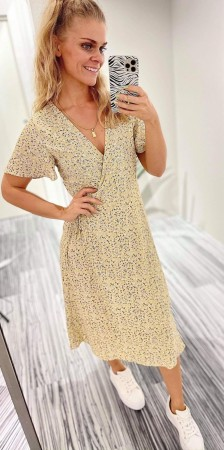 VILOVIE WRAP DRESS HUMMUS