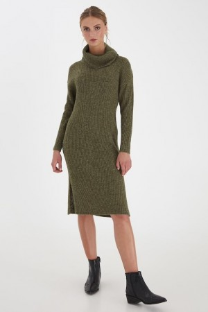NOVO KNIT DRESS BEECH
