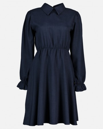 MILAN LINNO DRESS NAVY