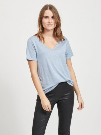 VINOEL TSHIRT ASHLEY BLUE