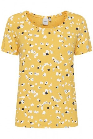 LISA TSHIRT BUFF YELLOW