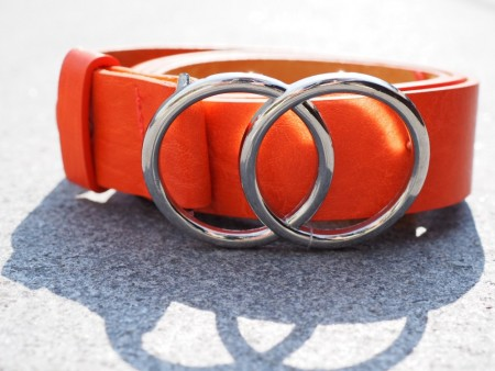GUUCCII BELT ORANGE