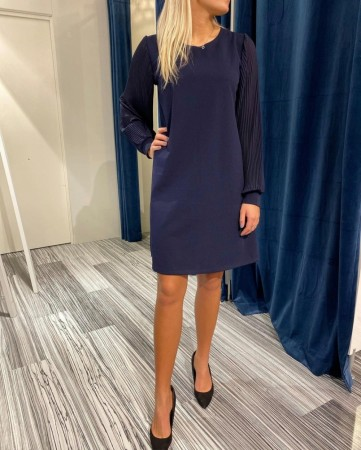 TULLA DRESS NAVY