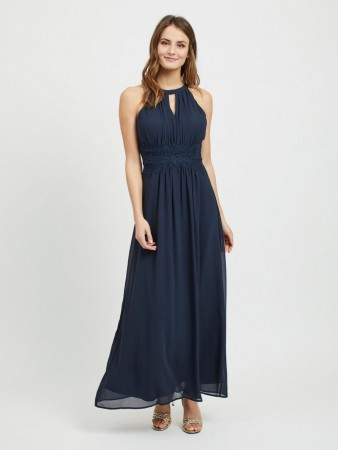 f4c72313 VIMILINA MAXI DRESS NAVY