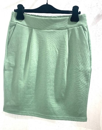 KATE SKIRT HEDGE GREEN