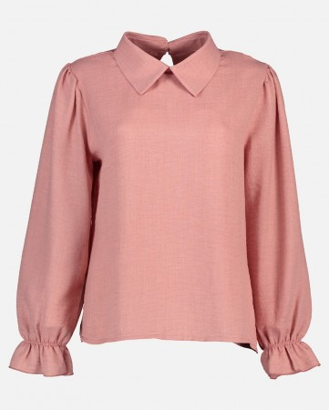 MILAN LINNO BLOUSE ANTIQUE PINK