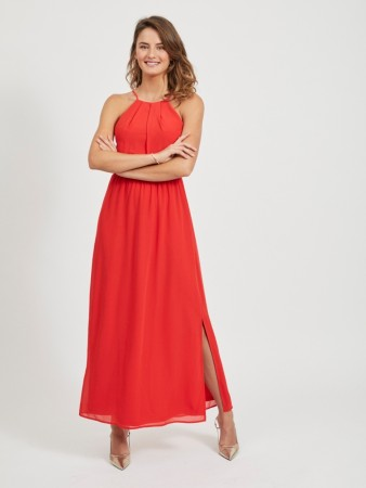 VIMICADA LONG DRESS RED