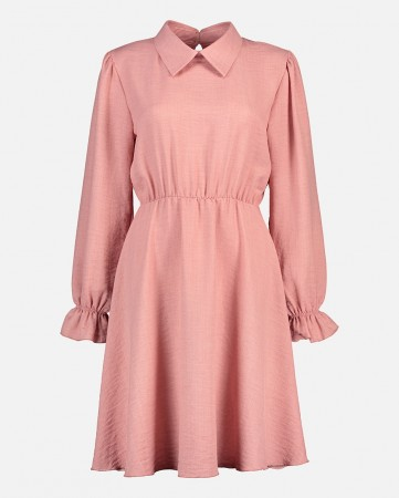 MILAN LINNO DRESS PINK